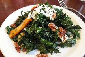 Black Kale Salad @ Mcginty's in Down Town Silver Spring, Maryland