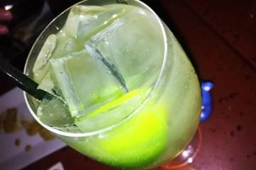 Meyer Lemon Rickey Cocktail @ Dino's Grotto on U Street in Washington DC