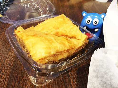 Baklava from Big Greek Cafe at Taste of Fenton