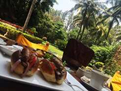 Breakfast Roll from Polo Club Oberoi Hotel, Bangalore India