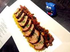 Spiced Rubbed Pork Tenderloin @ Not Your Average Joe's