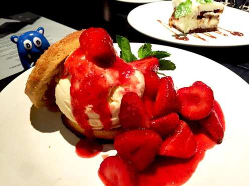 Strawberry Shortcake @ Not Your Average Joe's