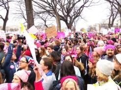 Women's March on Washington DC