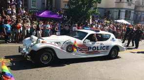 LGBT Liason Unit for DC Metro Police @ Capital Pride Parade 2017