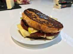 Monte Cristo Sandwich with Cabot Cheese
