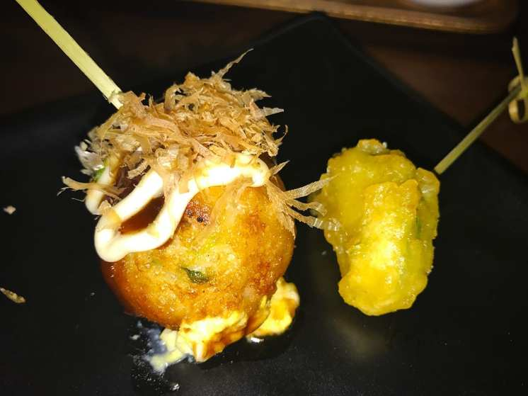 Takoyaki @ Jinya Logan Circle Grand Opening Party
