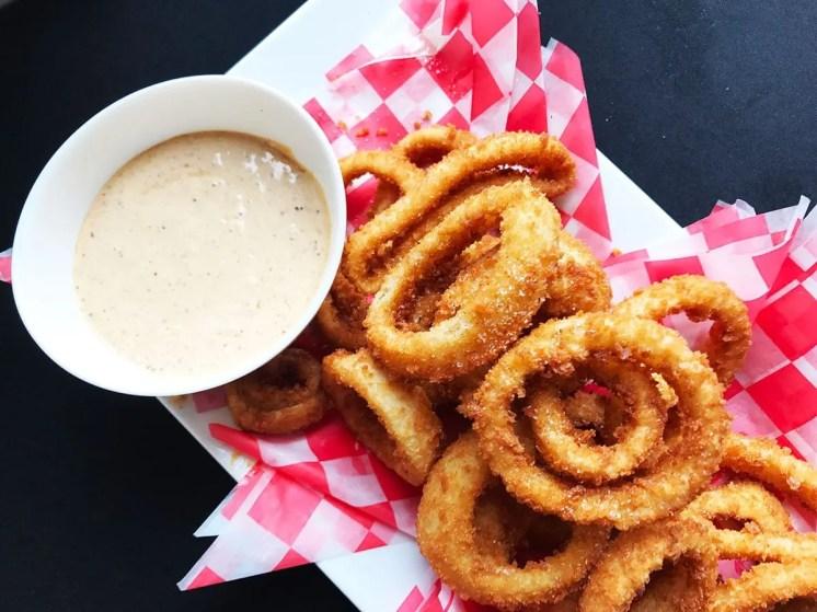Crispy Onion Rings @ Triple Craft