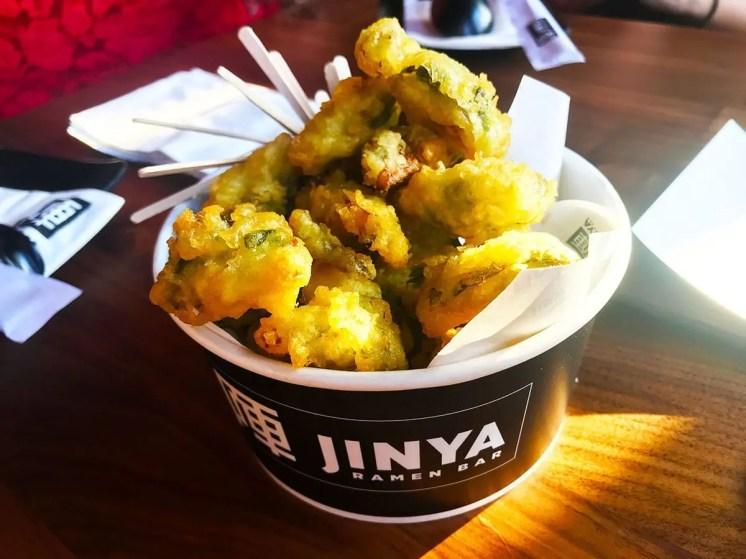 Brussels Sprouts Tempura @ Jinya Pike & Rose Rockville