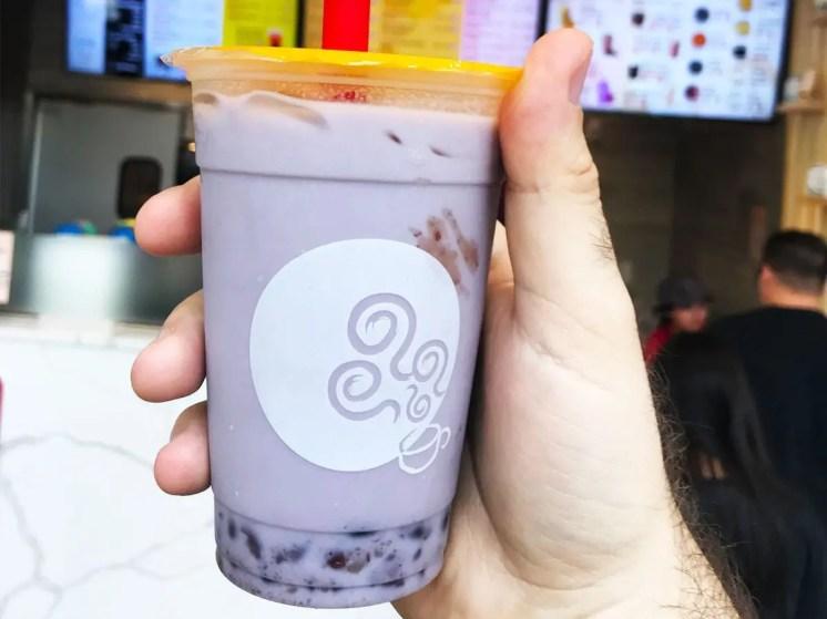 Taro Bubble Tea from Gongcha