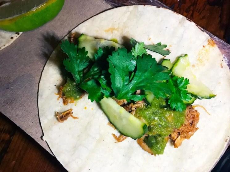 Spicy Pork Tacos from Tico (4 NOMs)