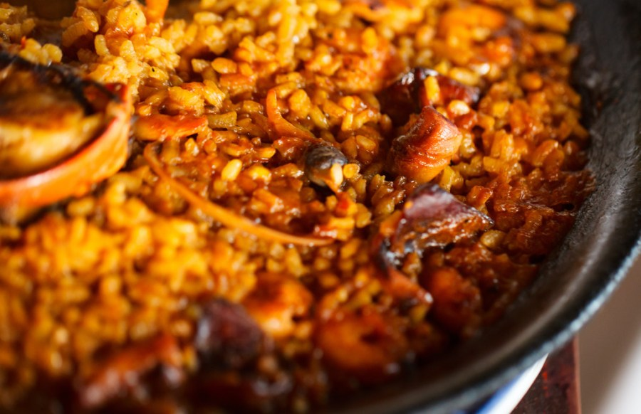 burnt rice - sides and bottoms - paella