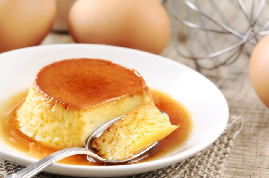 flan similar to coconut egg jam as it is a custard