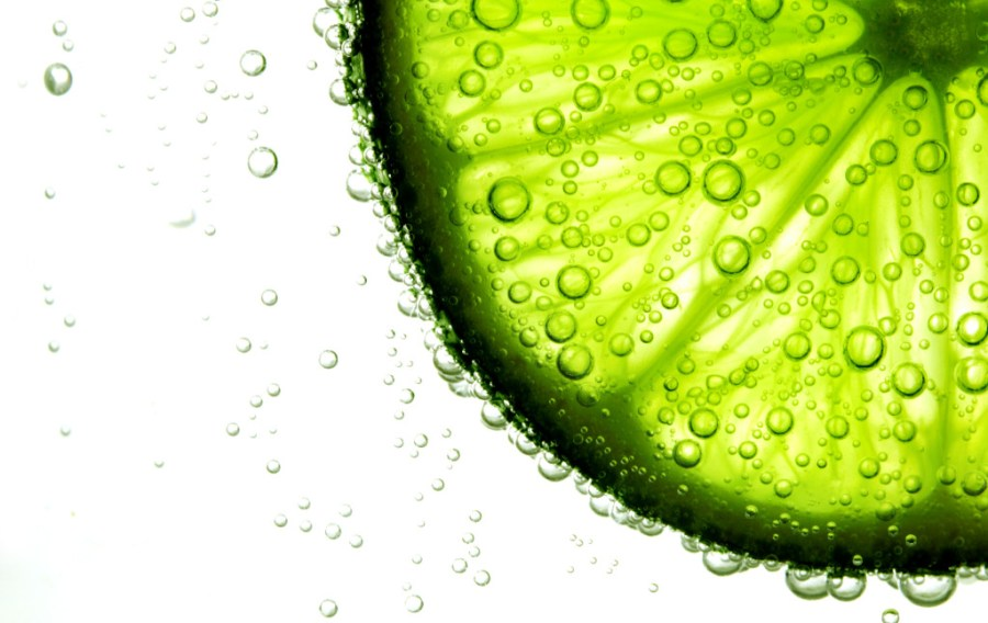 lime - citric acid - in water