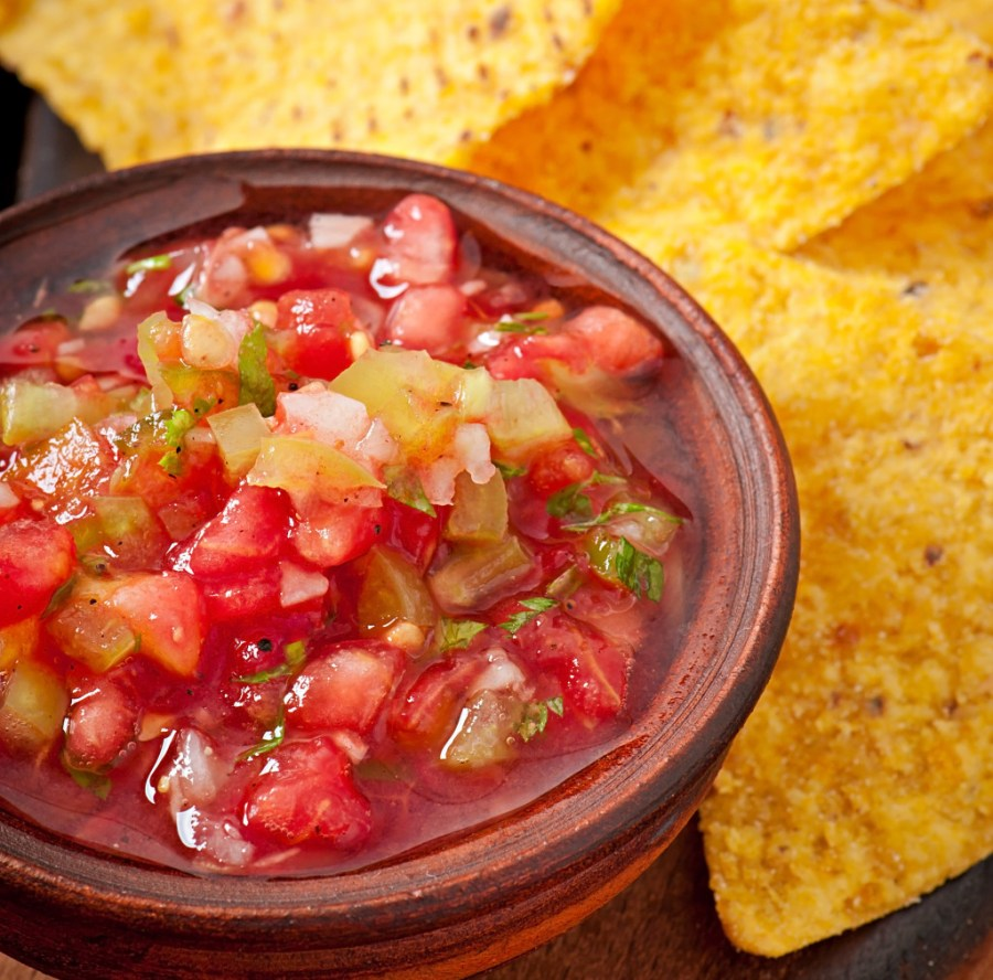 salsa came from the Latin word sal which meant salted