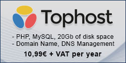 Tophost starting from 10,99€