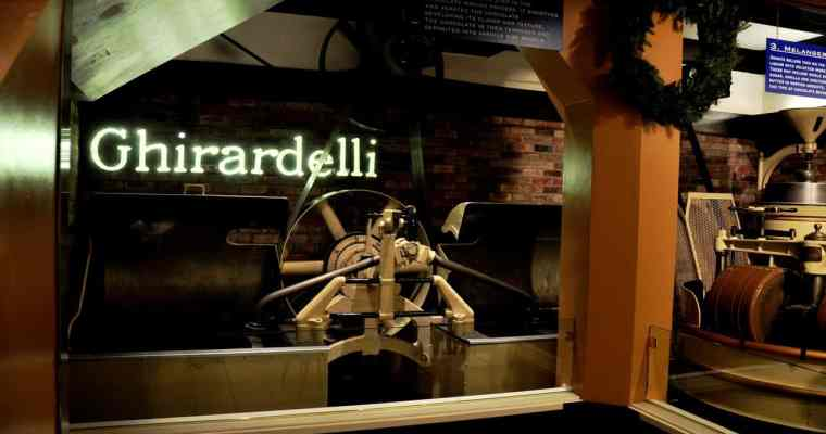 Ghirardelli Chocolate San Francisco Fisherman's Wharf