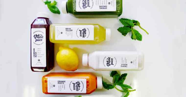 Vitae Juice Vancouver Juice Cleanse | 5 Most Popular Cold Press Juices