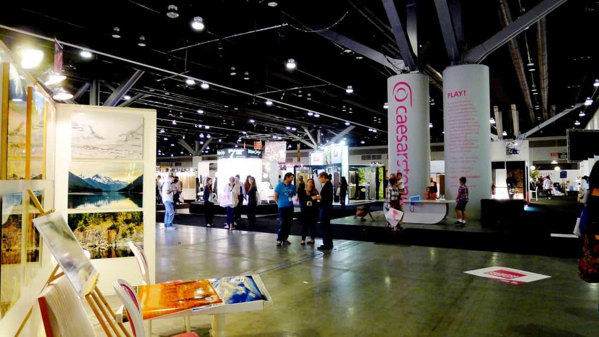 Trade Show Rental - CES Show 2014, Las Vegas Convention Center