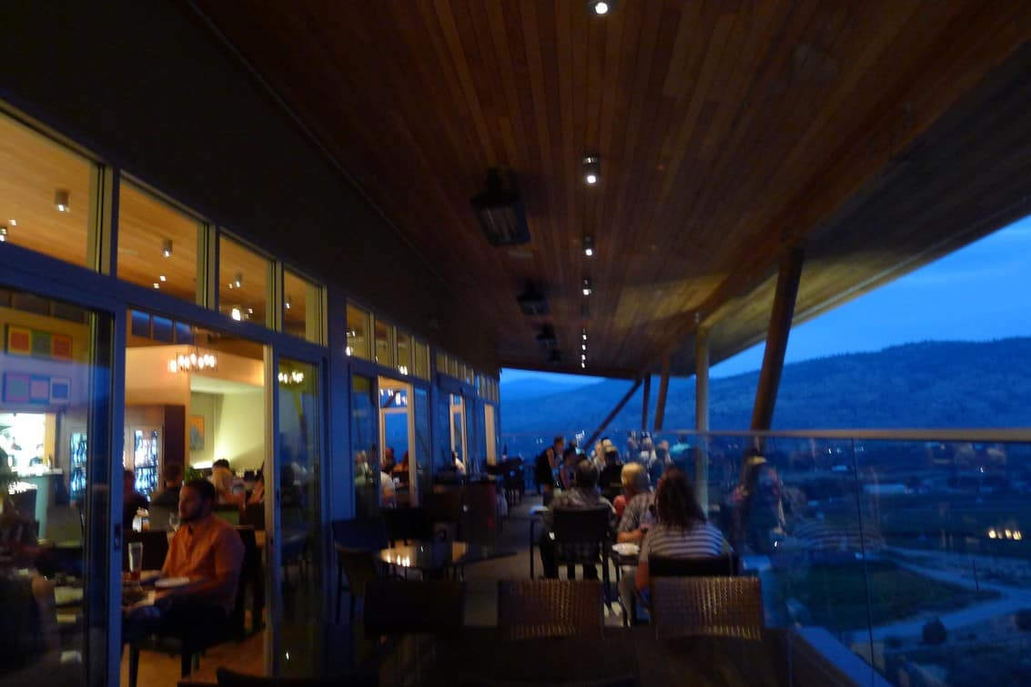 Miradoro Restaurant at Tinhorn Creek Winery Okanagan | Best Winery Vineyard Dining