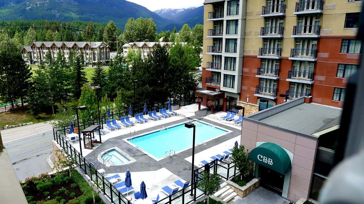 Hilton Hotel Whistler BC   Ski Resorts