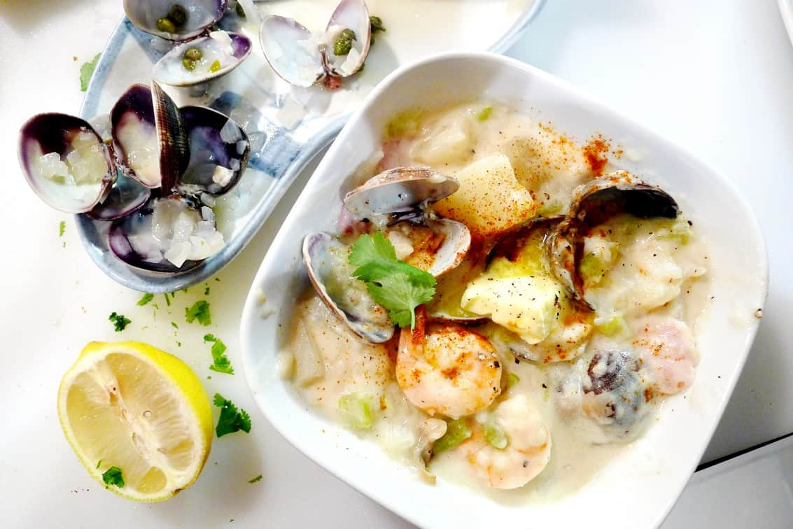 Best Seafood Clam Chowder Recipe   East Coast Maritimes