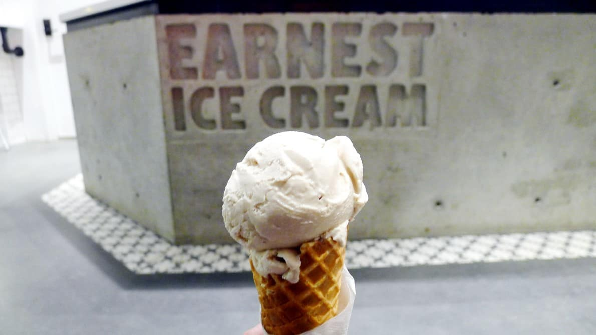 Earnest Ice Cream Vancouver Olympic Village instanomss nomss