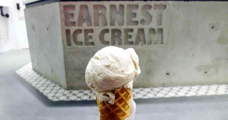 Earnest Ice Cream Vancouver New Location | Olympic Village