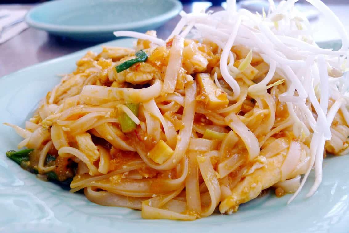 Thai House Restaurant Richmond | Pad Thai and Curry Rice
