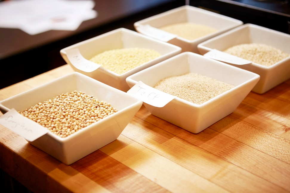 Chef lynn Crawford Catelli Helthy Harvest Ancient Grains instanomss nomss