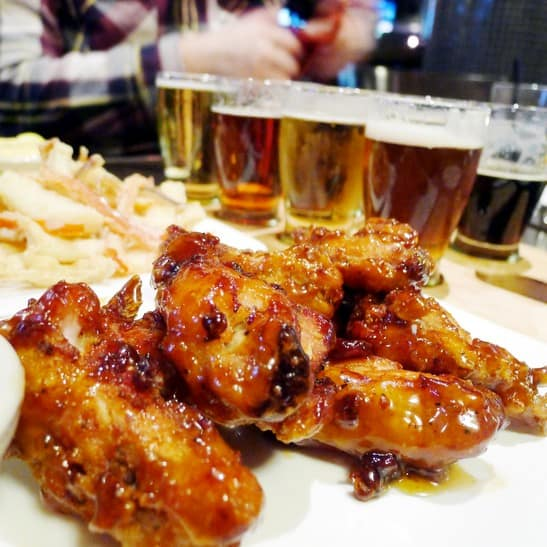 The Park Pub at English Bay Pub | Wings and Craft Beer Flights