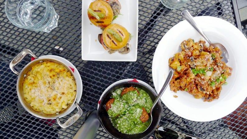 Kitchen on Main Vancouver | Meatballs x Hidden Garden Patio