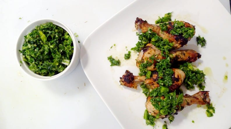 Baked Chicken with Chimichurri Sauce Recipe | Ricardo Cuisine