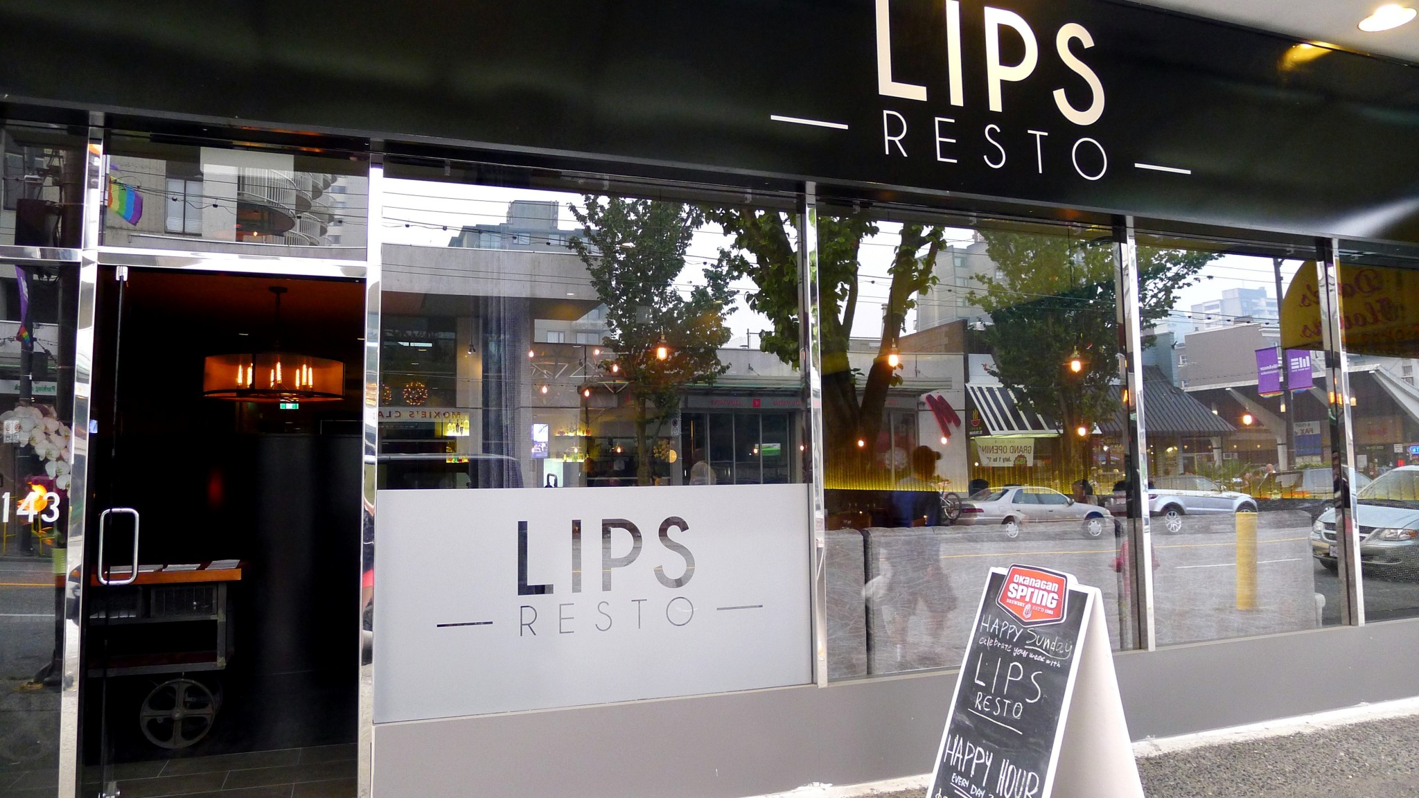 Lips Resto vancouver davie street west end restaurant Instanomss Nomss