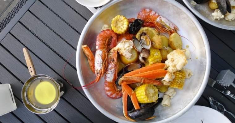 Pier 7 Restaurant North Vancouver | Patio Seafood Boil