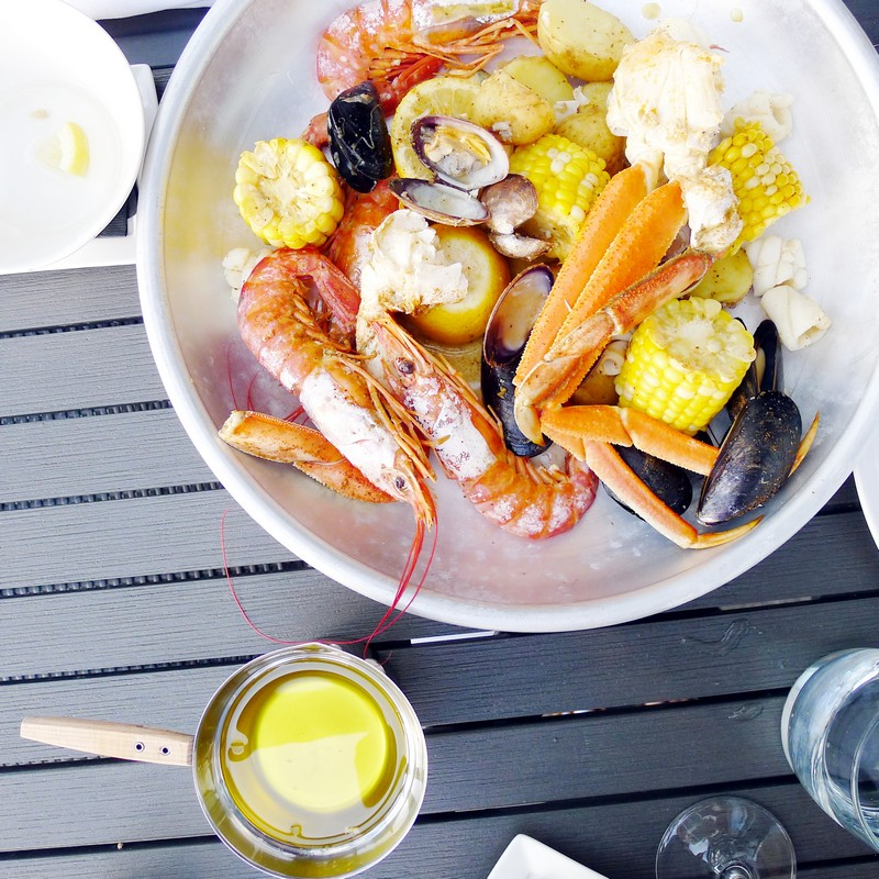 Pier 7 Restaurant North Vancouver Pinnacle Seafood The Boil Patio Instaomss Nomss Vancouver Food Blog