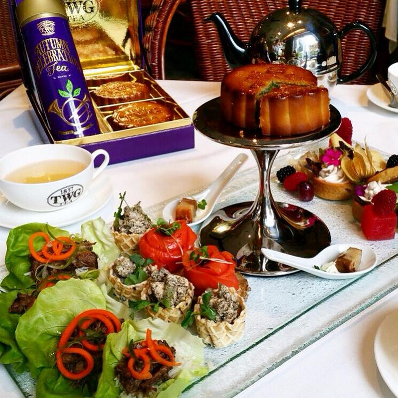 The Urban Tea Merchant Vancouver Afternoon Tea TWG Mooncakes high tea Instanomss Nomss Food Blog