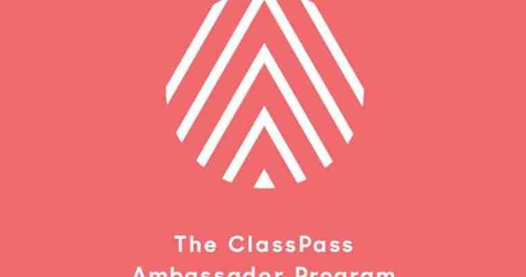 ClassPass Ambassador   One Pass Unlimited Classes