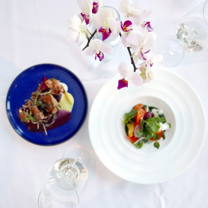 Oru Spring Menu Fairmont Pacific Rim Hotel Restaurant Chef Nathan Brown Instanomss Nomss Food Photography Healthy Travel Lifestyle Canada
