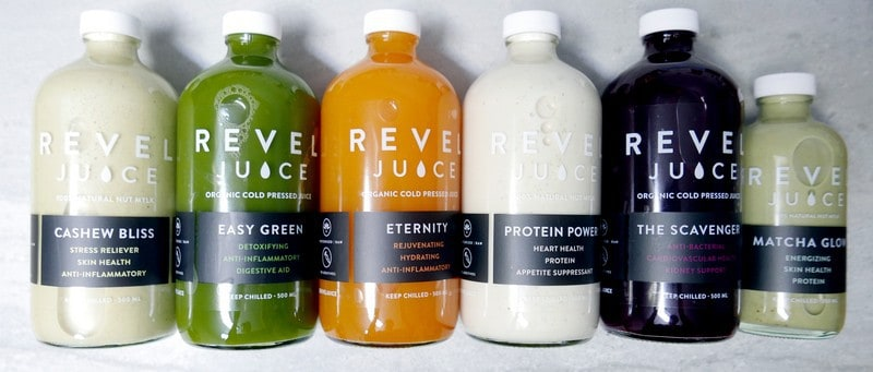 Revel Juice Vancouver | 100% Organic Cold Press Juice Cleanse