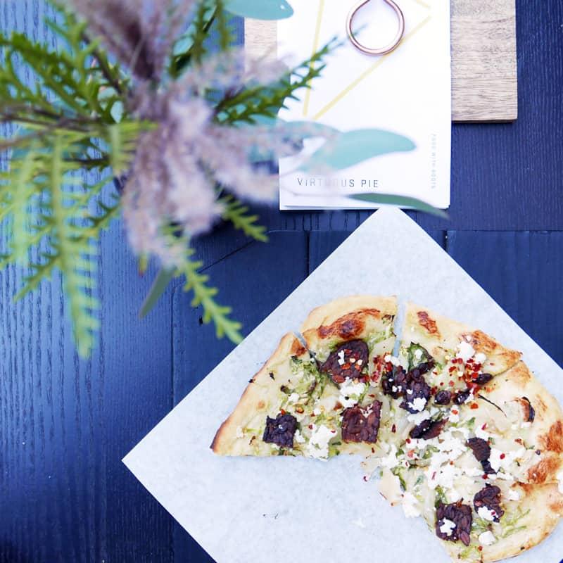 Virtuous Pie Vancouver | Vegan Pizza and Ice Cream Chinatown