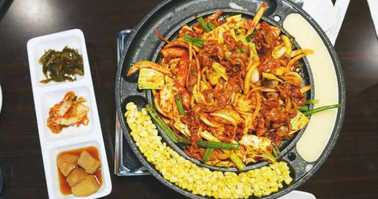 Ta Bom Korean Restaurant Coquitlam | Hot Plate and Stirfry