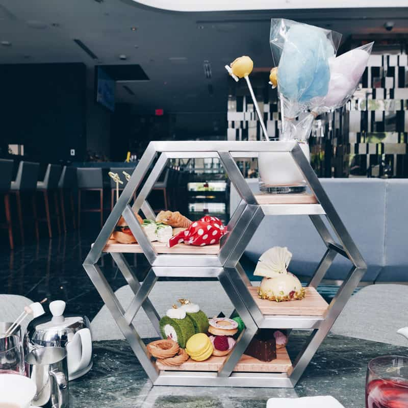 TRUMP CHAMPAGNE LOUNGE VANCOUVER | Afternoon High Tea