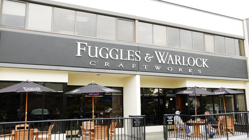 FUGGLES AND WARLOCK CRAFT BEER RICHMOND NOMSS.COM VANCOUVER FOOD BLOG