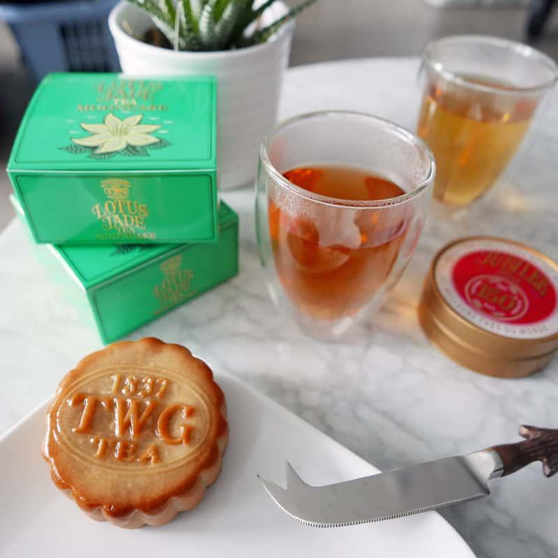 TWG Tea Lotus Jade Tea Mooncake Collection