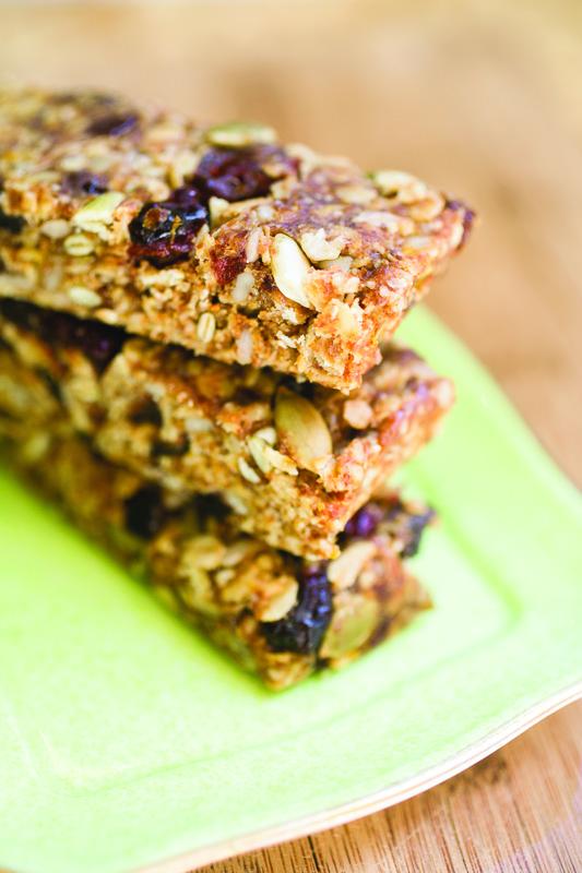 Citrus Burst Energy Bars Recipe   Eat at Home Cookbook
