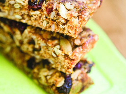 Citrus Burst Energy Bars Recipe | Eat at Home Cookbook