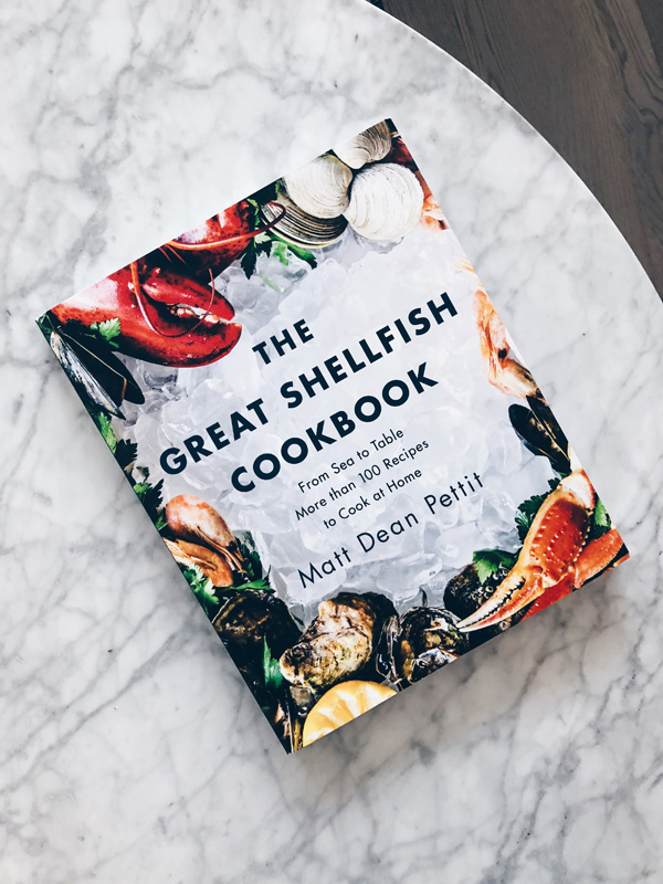 THE GREAT SHELLFISH COOKBOOK BY MATT DEAN PETTIT REVIEW