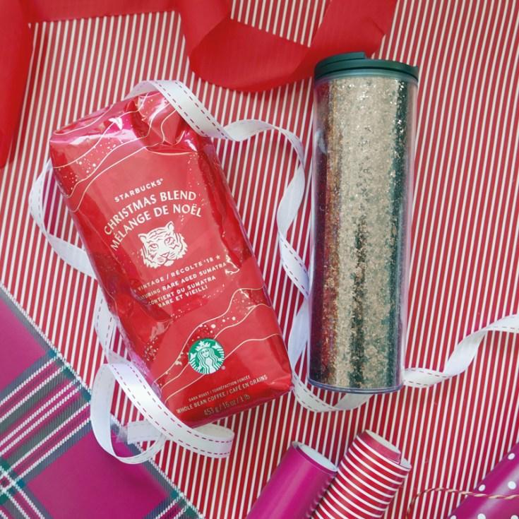 Holiday Christmas Gift Guide Nomss.com starbucks glitter tumbler