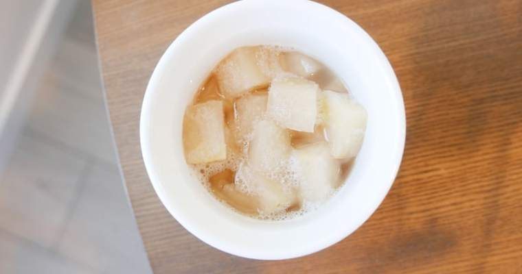 Double-Steamed Snow Pear with Fritillaria Bulb Recipe | 川貝燉雪梨