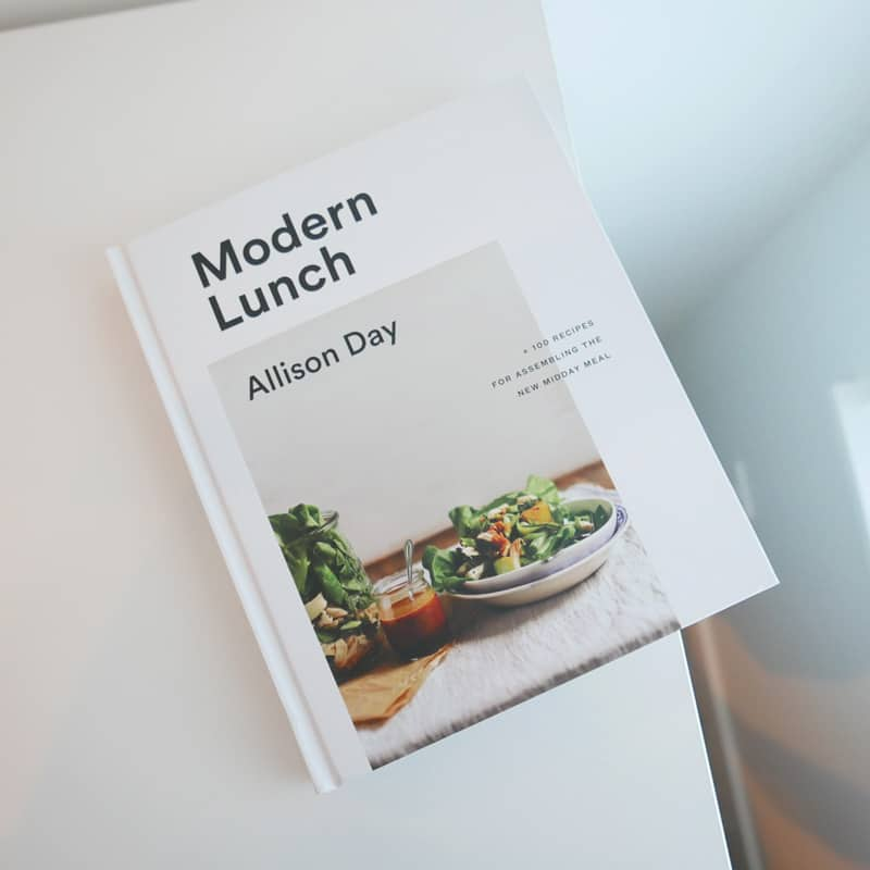 MODERN LUNCH BY ALLISON DAY   COOKBOOK REVIEW